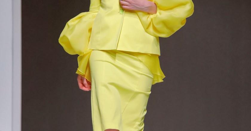Sophia Nubes ha sfilato all' Arab Fashion Week