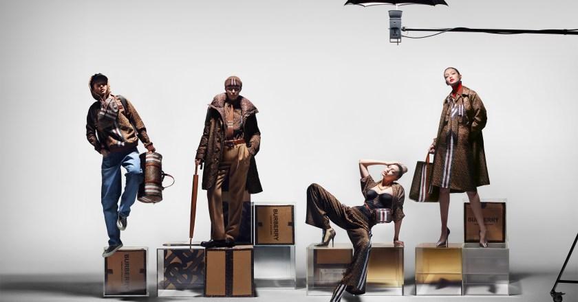 BURBERRY svela la collezione Monogram con Gigi Hadid