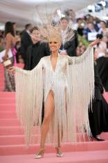 Celine Dion in Oscar de la Renta al MET Gala, NY