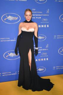 Chloe Sevigny in Mugler alla The Dead Don't Die premiere, Cannes Film Festival