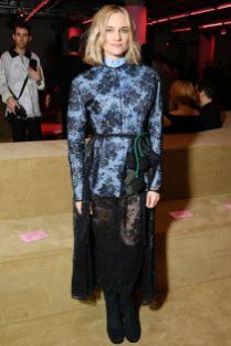 Diane Kruger al Prada cruise 2020 show, New York