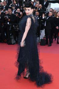 Dita von Teese in Alexis Mabille al Cannes Film Festival