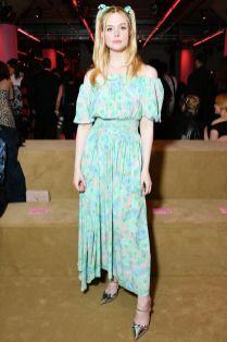 Elle Fanning al Prada cruise 2020 show, New York