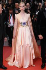 Elle Fanning in Gucci alla The Dead Don't Die premiere, Cannes Film Festival