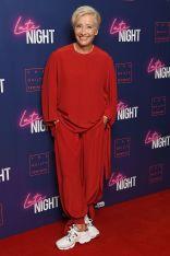 Emma Thompson in Stella McCartney alla proiezione del Late Night, London