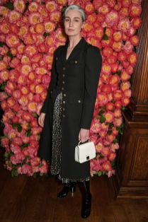 Erin O'Connor in Michael Kors al Michael Kors Old Bond Street store, Londra