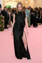Fran Summers wearing Buberry at the Metropolitan Museum of Art's Costume Institute Gala 2019