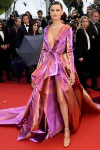 Isabeli Fontana alla premiere of Les Plus Belles Annees D'Une Vie, Cannes Film Festival