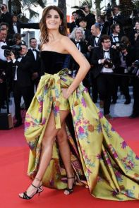 Isabeli Fontana in Etro al Cannes Film Festival