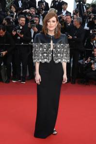 Julianne Moore in Louis Vuitton alla Miserables Premiere, Cannes Film Festival