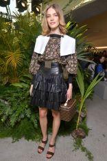 Natalia Vodianova in Louis Vuitton al Louis Vuitton 2020 cruise show, New York
