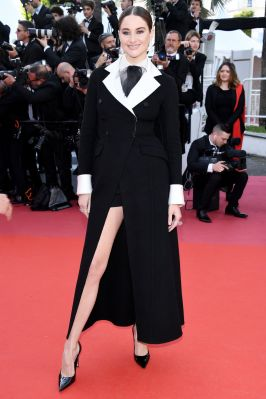 Shailene Woodley in Dior al Cannes Film Festival