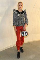 Sophie Turner in Louis Vuitton al Louis Vuitton 2020 cruise show, New York