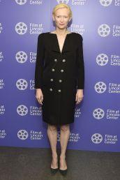 Tilda Swinton al Film Society Of Lincoln Center's 50th anniversary gala