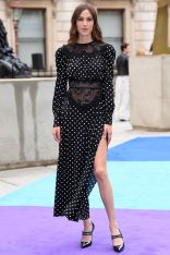 Alexa Chung in Dolly Up Vintage al Royal Academy Summer Exhibition party