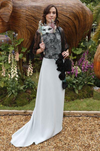Alexa Chung in Prada al The Animal Ball, London