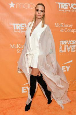 Cara Delevingne al Trevor Live New York Gala