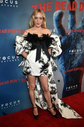 Chloe Sevigny in Marc Jacobs alla The Dead Don't Die Premiere, New York
