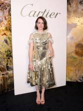 Claire Foy in Simone Rocha al Cartier's Magnitude Jewellery Gala Dinner, London