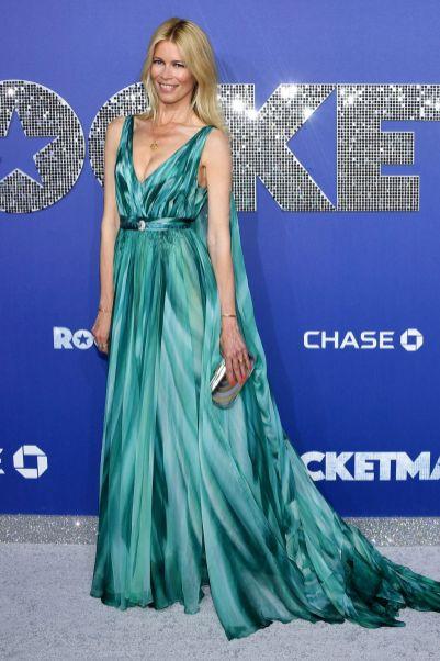 Claudia Shiffer alla premiere of Rocketman, NY