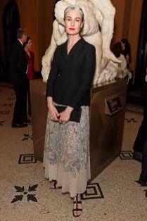 Erin O'Connor in Dior al The Victoria & Albert Summer Party, London