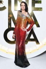 Eva Green con gioielli Bulgari al Bvlgari Hight exhibition launch, Capri