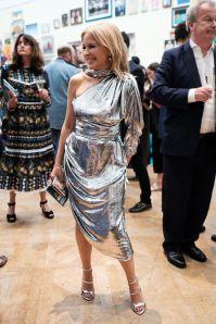 Kylie Minogue al Royal Academy Summer Exhibition party.