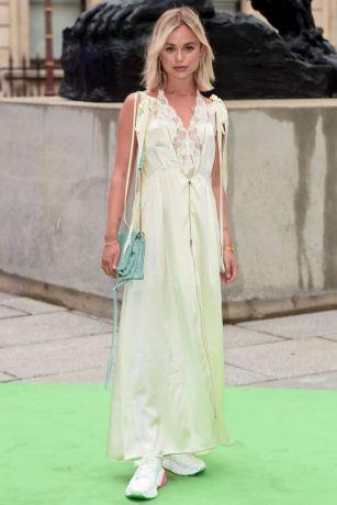 LAdy Amelia Windsor al Royal Academy Summer Exhibition party