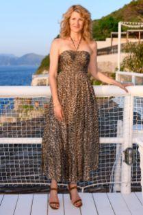 Laura Dern in Zimmermann allo store Zimmermann, Capri