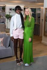 Lorraine Pascale e Gwyneth Paltrow in TSE al Goop Launch, Harvey Nichols