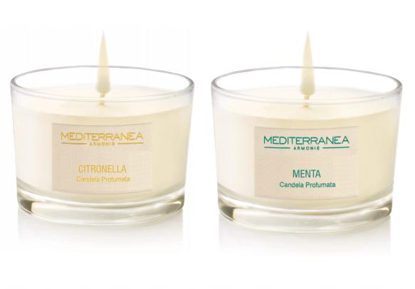 L'estate profuma con le candele di Mediterranea