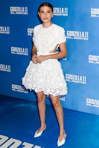 Millie Bobby Brown in Givenchy alla Godzilla II King of the Monsters premiere