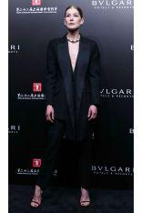 Rosamund Pike in Alexander McQueen, Shanghai