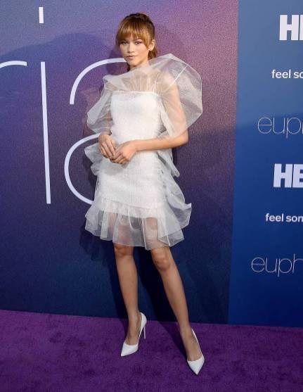 Zendaya in Nina Ricci all'Euphoria Premiere, Los Angeles