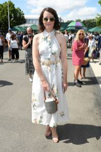 Claire Foy a Wimbledon, London