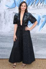 Felicity Jones in Chanel al The Serpentine Summer party 2019, London