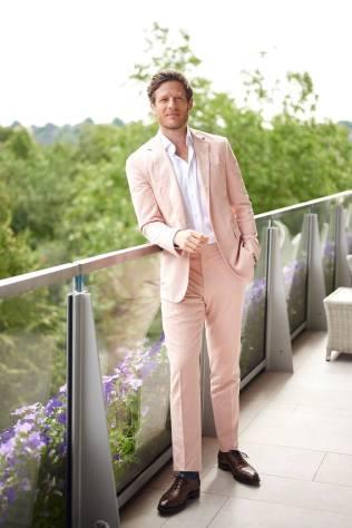 James Norton a Wimbledon, London