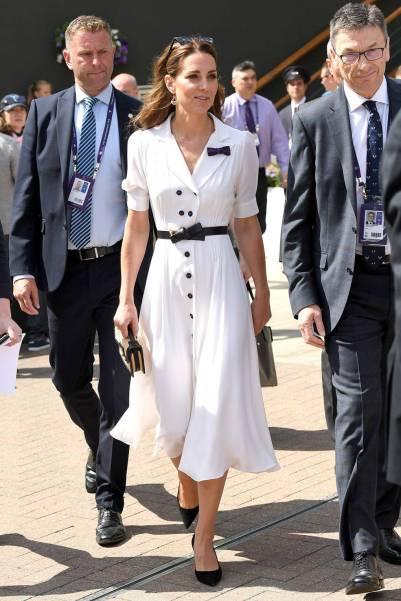 La Duchessa di Cambridge a WImbledon, Londra