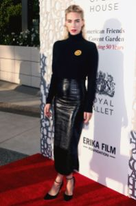 Vanessa Kirby in Bella Freud all'American Friends of Covent Garden event, Los Angeles