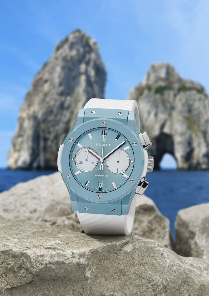 Hublot loves Capri – arriva il nuovo cronografo in limited edition
