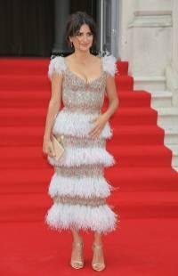 Penelope Cruz in Ralph & Russo alla Pain and Glory Premiere, London