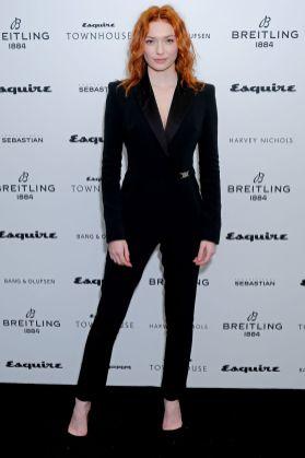 Eleanor Tomlinson in David Koma al lancio dell' Esquire Townhouse, London