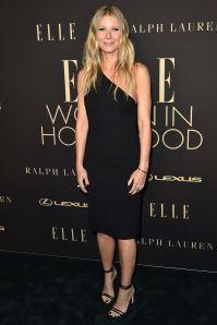Gwyneth Paltrow in Bottega Veneta all'Elle 'Women In Hollywood' event.
