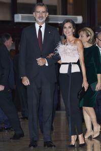 Il Re e la Regina di Spagna ai Princess of Asturias Awards Concert.
