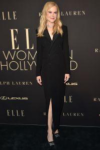 NIcole Kidman in Ralph Lauren all'Elle 'Women In Hollywood' event.