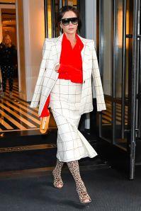 Victoria Beckham in un suo look, NY