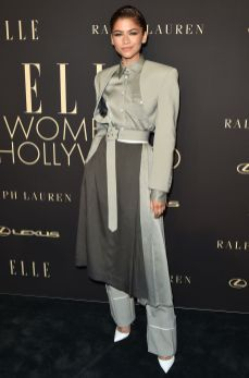 Zendaya in Peter Do all'Elle 'Women In Hollywood' event