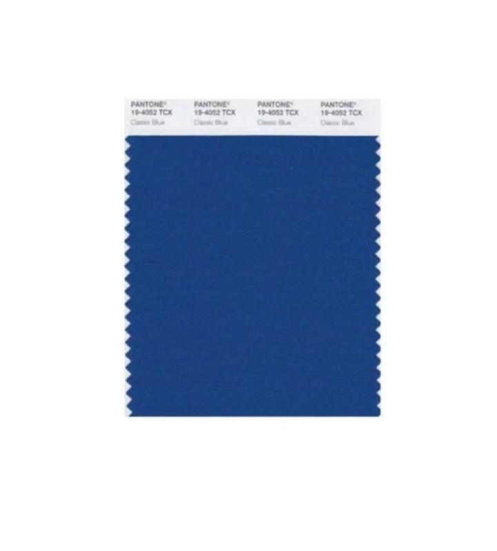 Pantone ha svelato il colore del 2020: sarà il blu