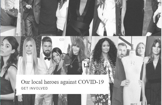 Vestiaire Collective in campo contro il COVID-19