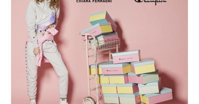 Champion lancia la nuova cspsule firmata Chiara Ferragni